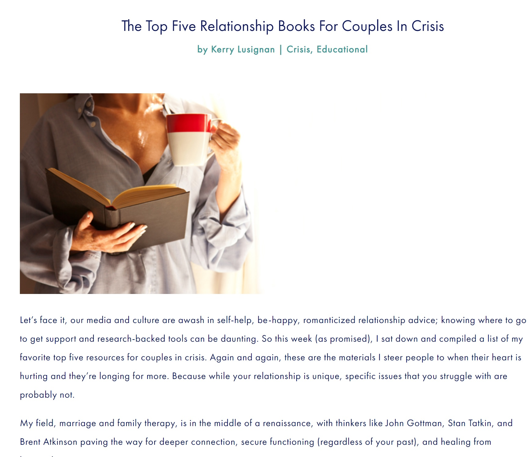 The Couples Clinic book rated #1